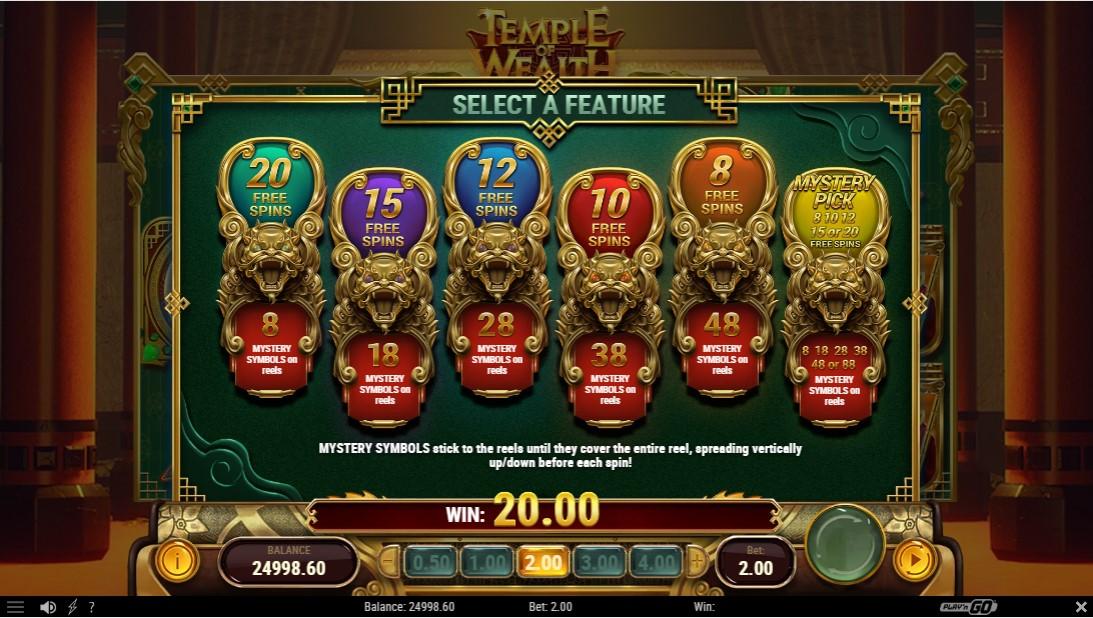 Temple of Wealth онлайн слот