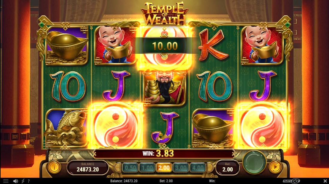 Temple of Wealth free slot