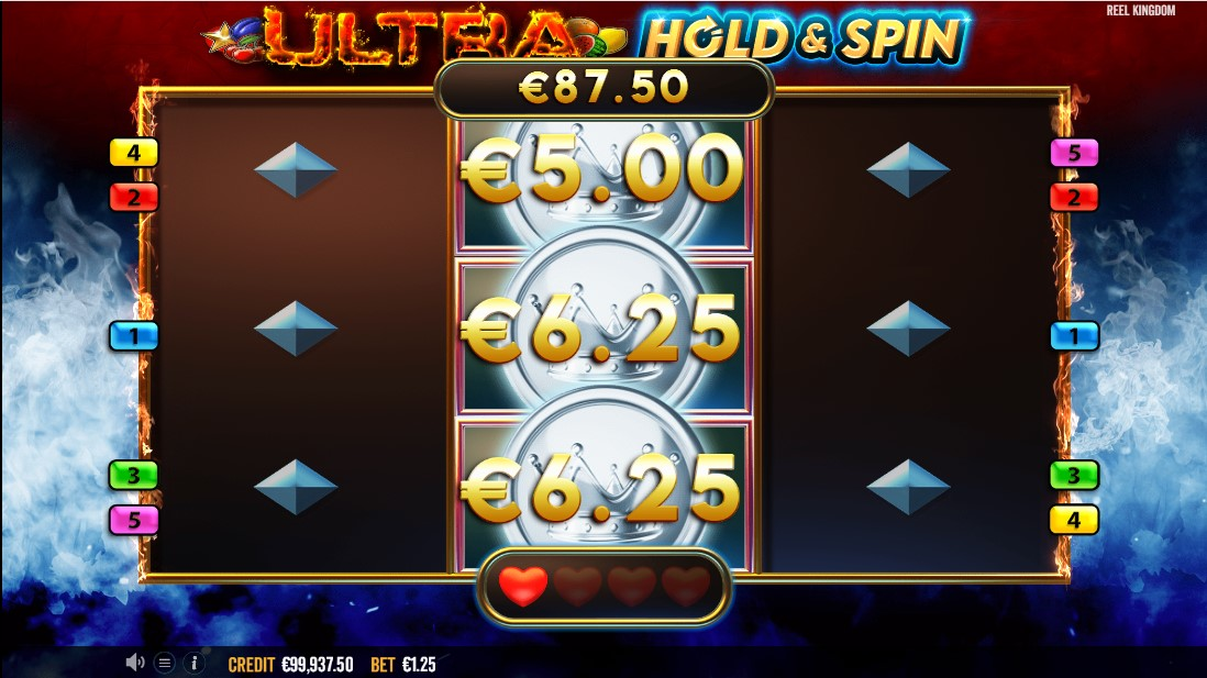 Ultra Hold and Spin free slot