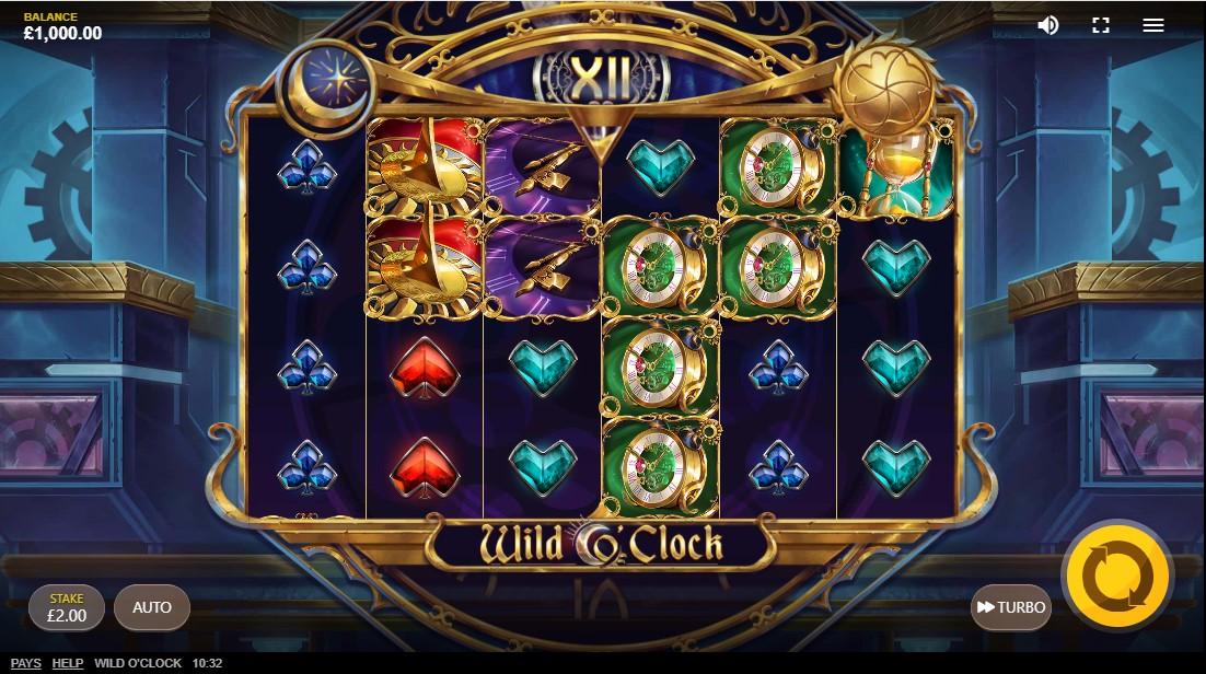 Wild O'Clock free slot