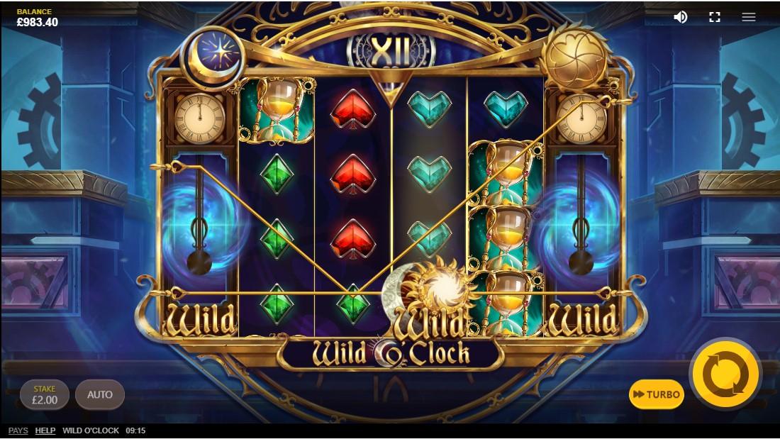 Wild O'Clock игровой автомат