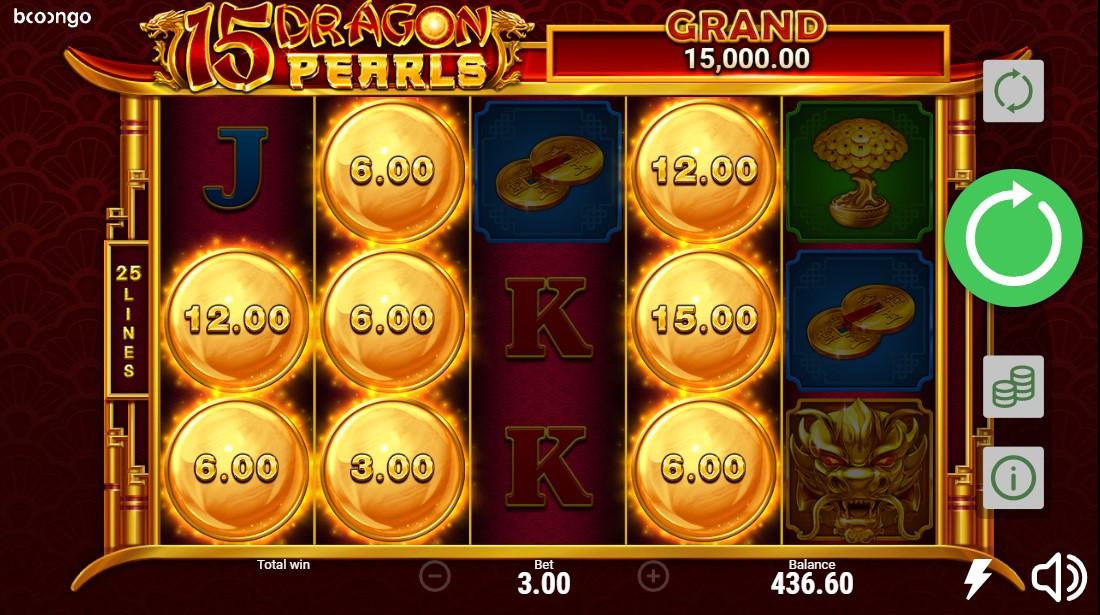 Онлайн слот 15 Dragon Pearls