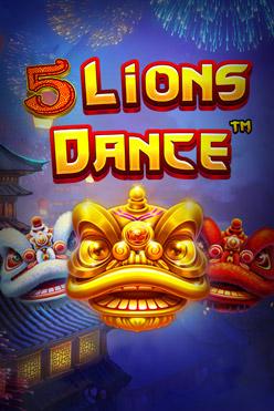 Играть 5 Lions Dance онлайн