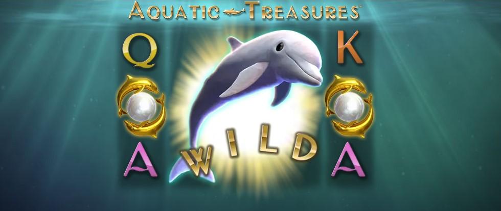 Играть Aquatic Treasures бесплатно