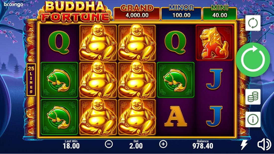 Buddha Fortune игровой автомат
