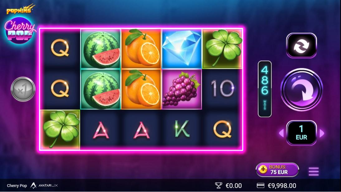 Игровой автомат CherryPop