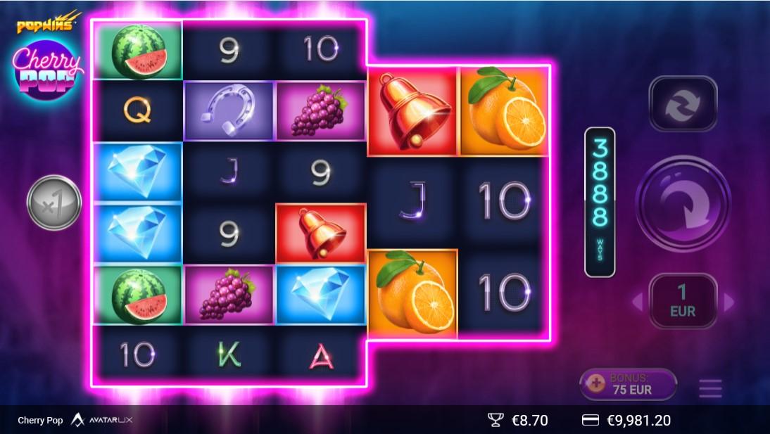 CherryPop игровой автомат