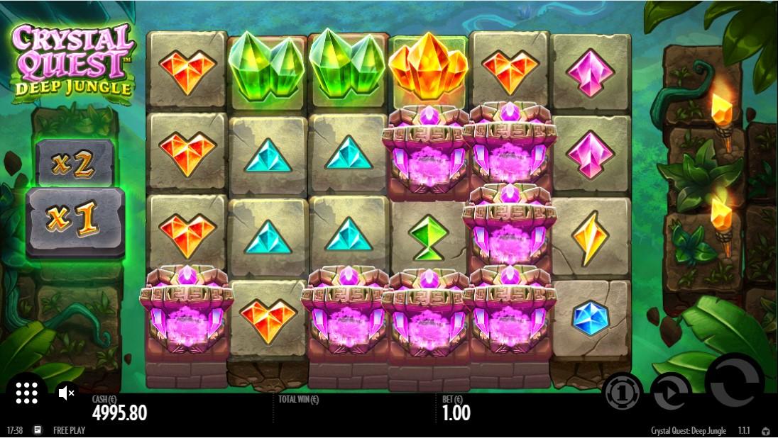 Crystal Quest Deep Jungle игровой автомат