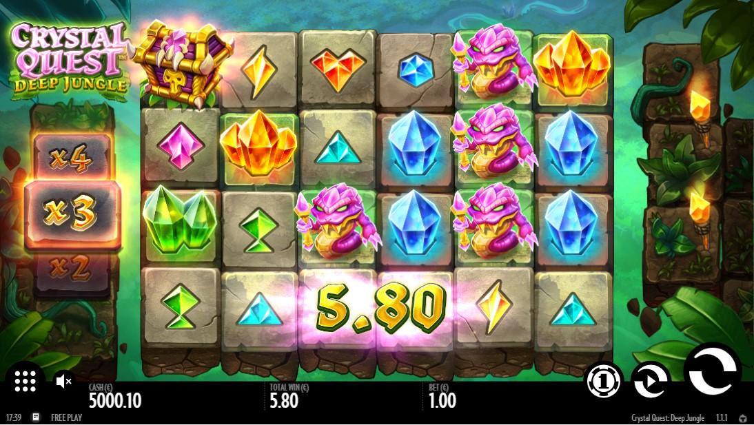 Crystal Quest Deep Jungle онлайн слот