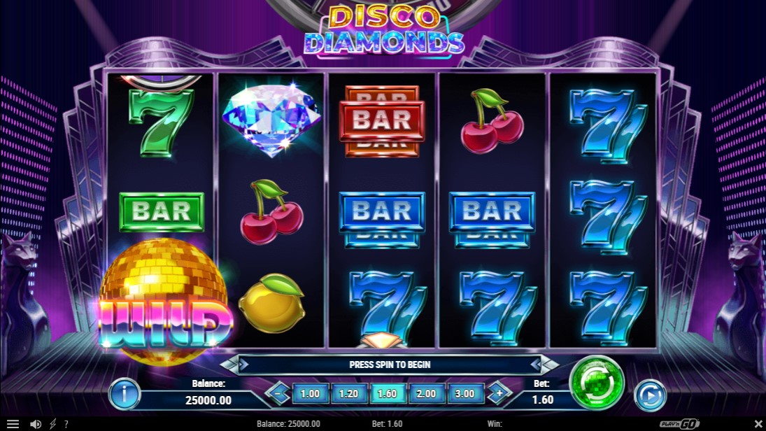 Disco Diamands онлайн слот