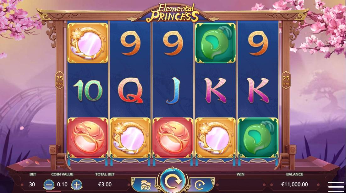 Elemental Princess бесплатный слот