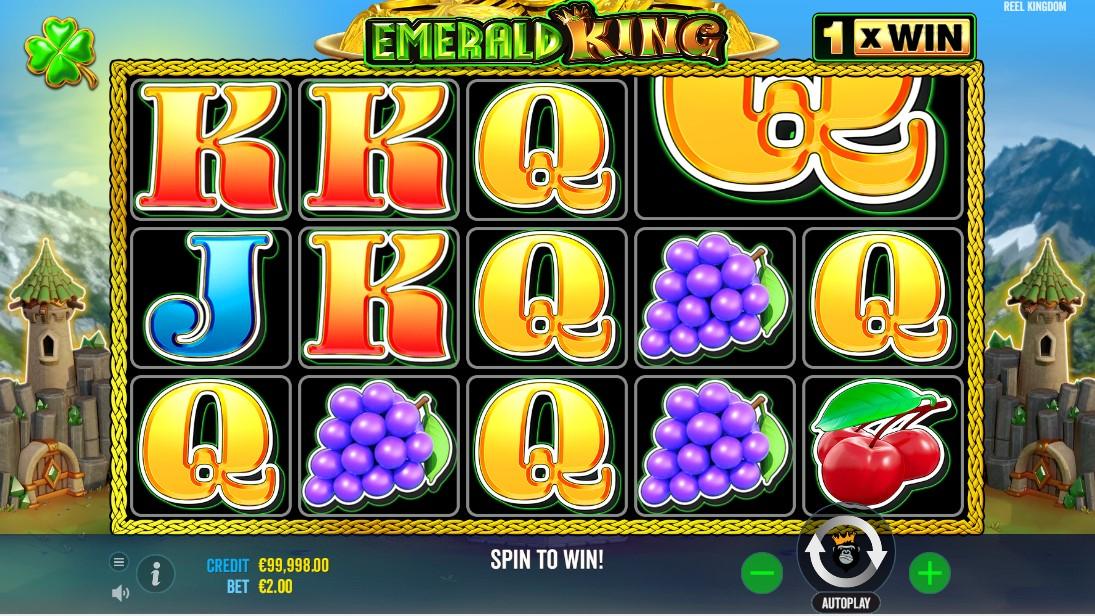 Emerald King бесплатный слот