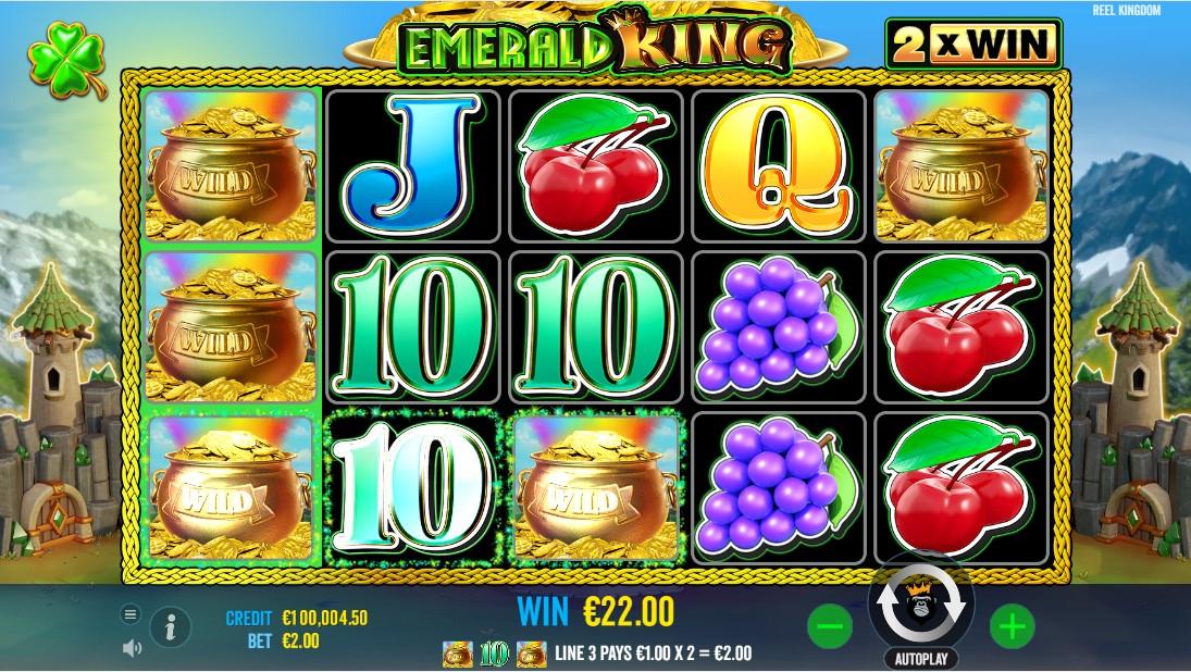 Emerald King игровой автомат