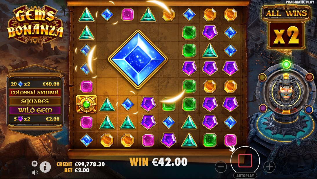 Gems Bonanza игровой автомат