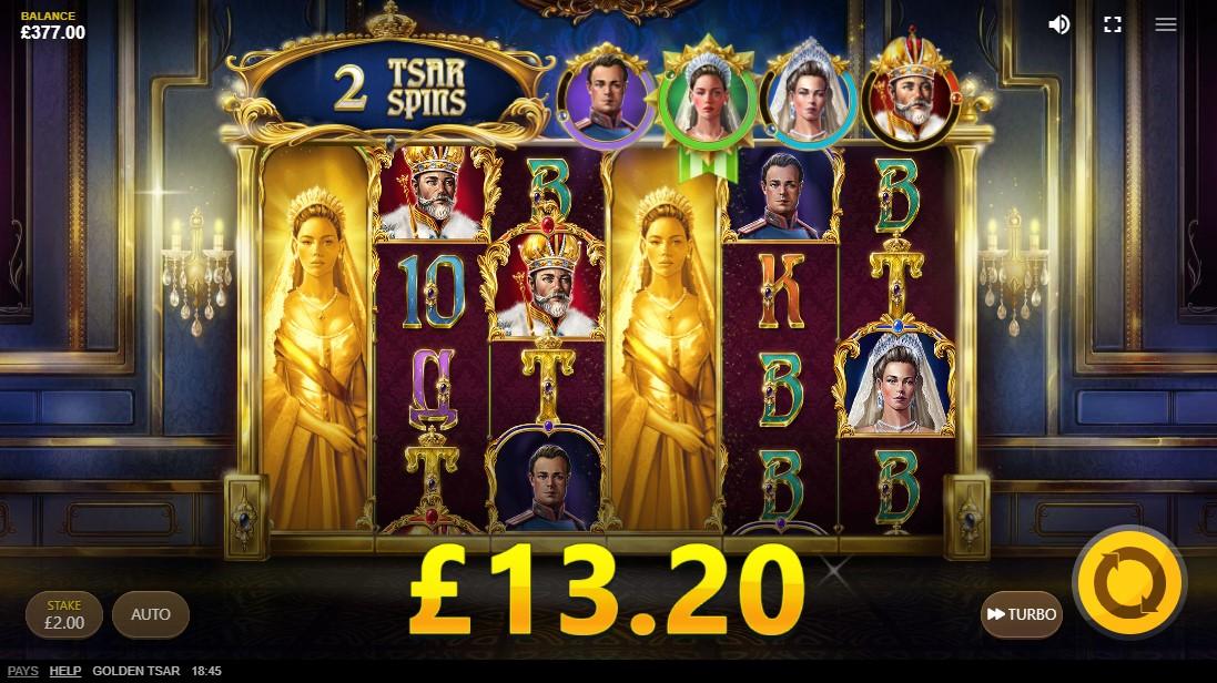 Golden Tsar игровой автомат