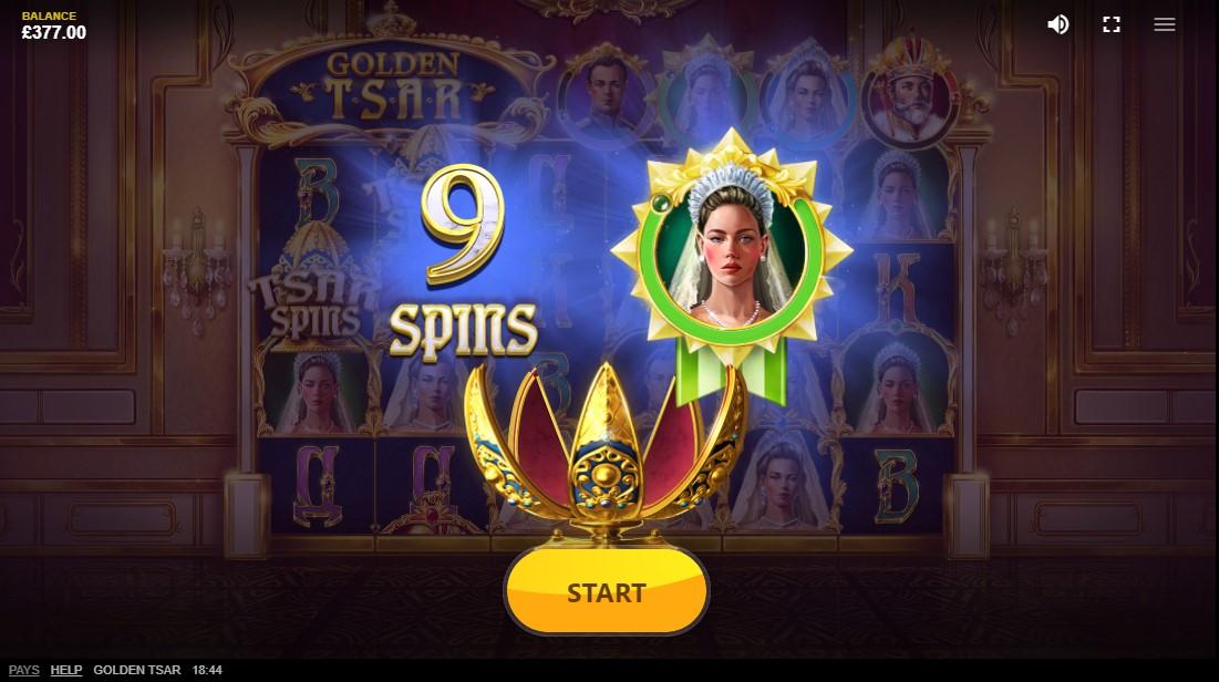 Golden Tsar онлайн слот