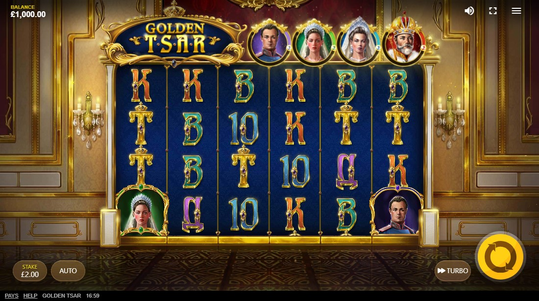 Golden Tsar free slot