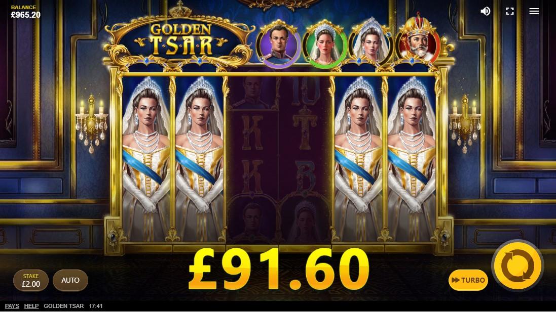 Слот Golden Tsar играть