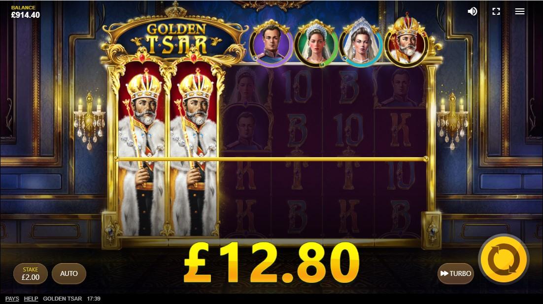 Бесплатный слот Golden Tsar