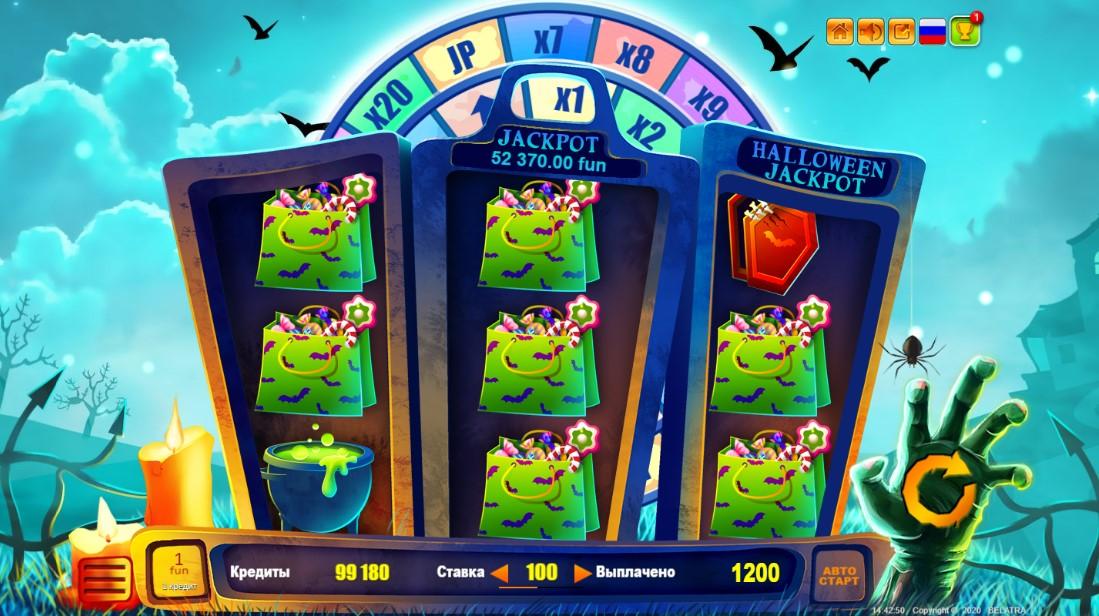 Halloween Jackpot игровой автомат