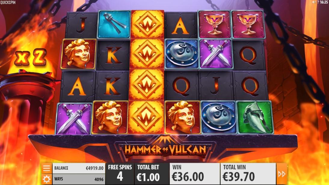 Hammer of Vulcan free slot