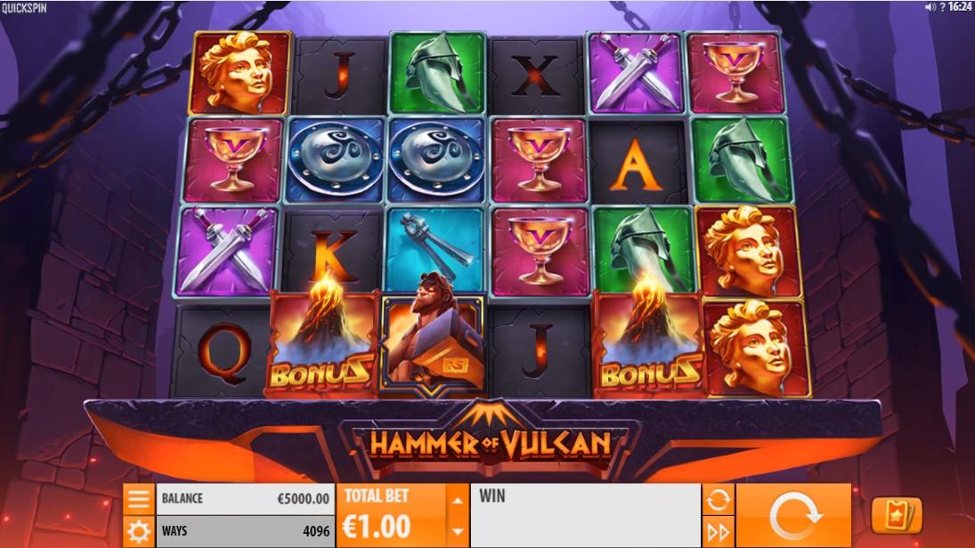 Hammer of Vulcan игровой автомат