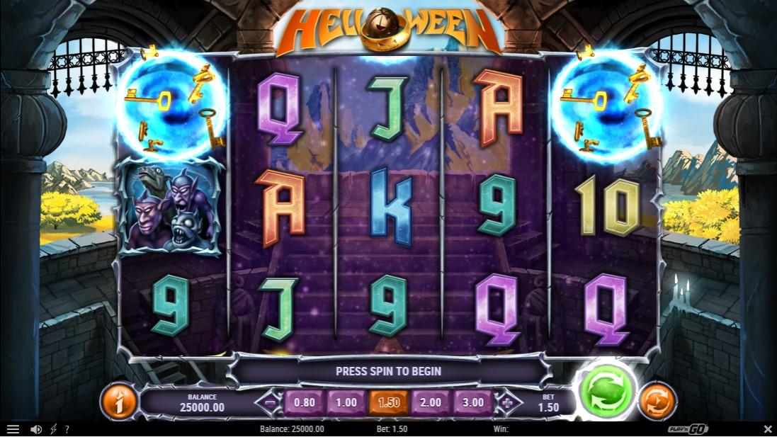 Helloween free slot