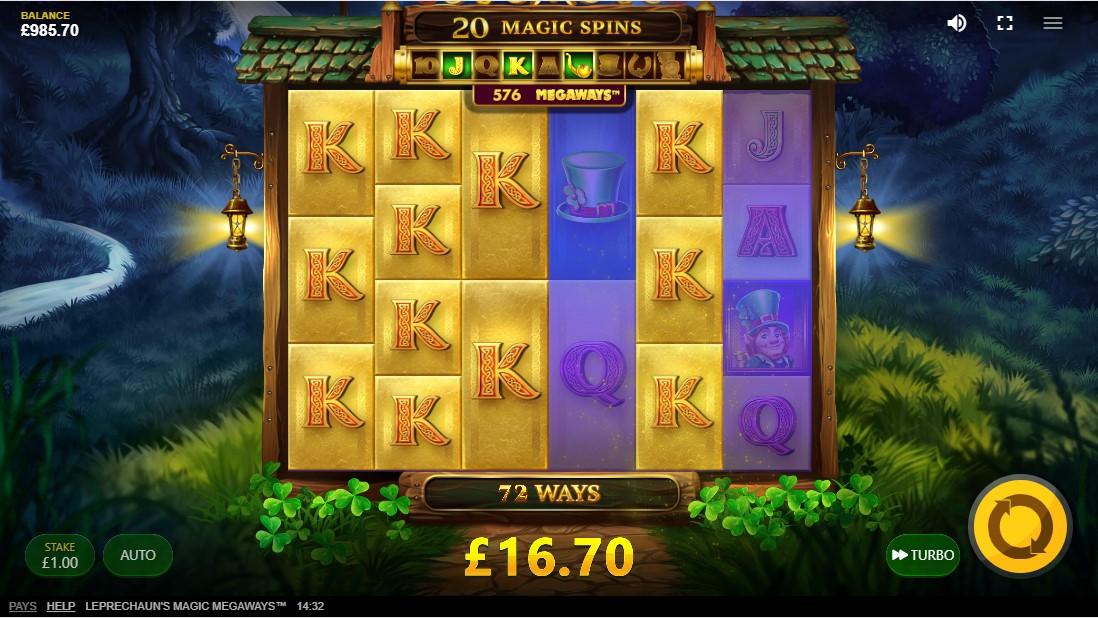 Leprechaun's Magic Megaways игровой автомат