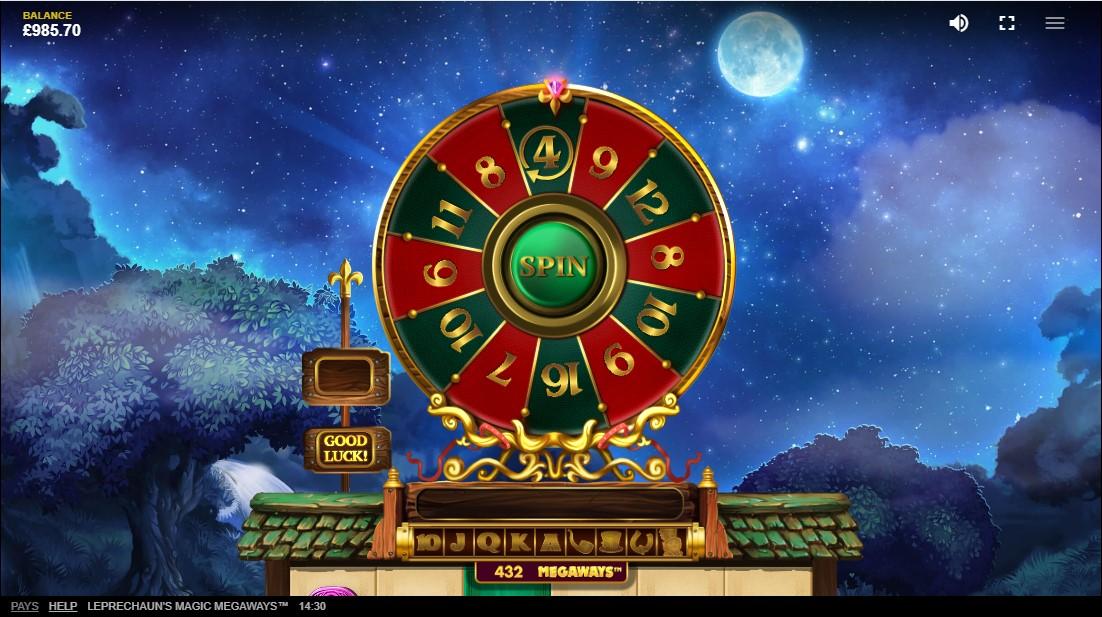 Leprechaun's Magic Megaways free slot