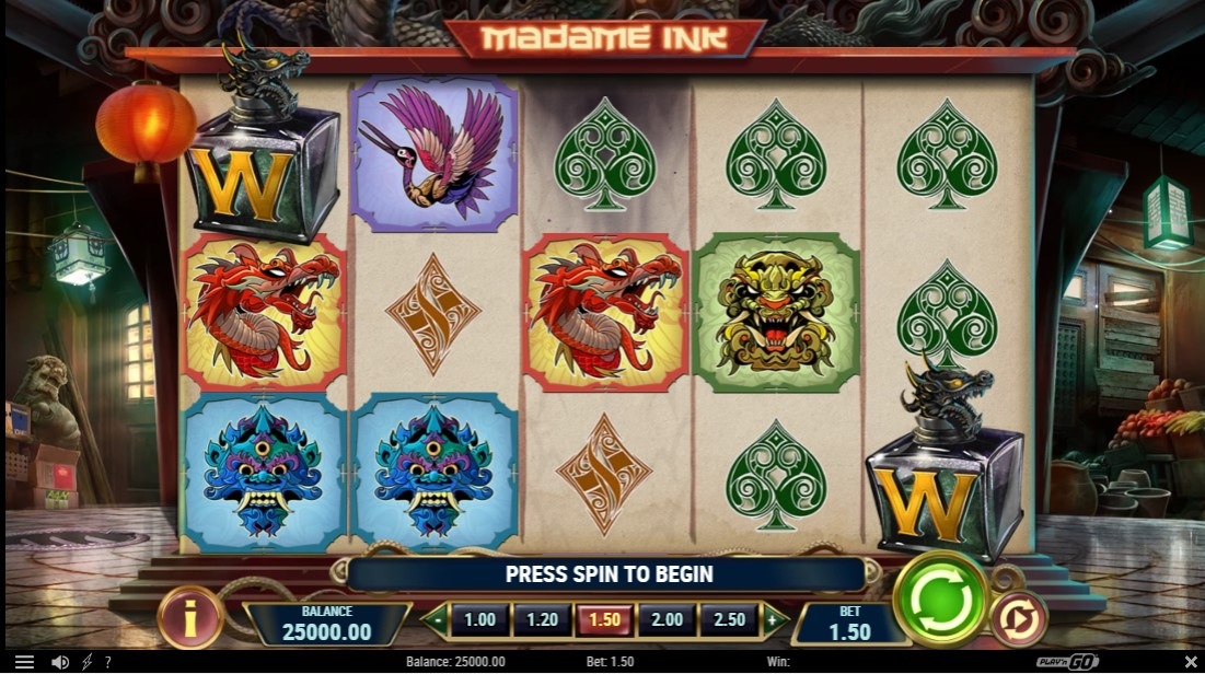 Madame Ink free slot
