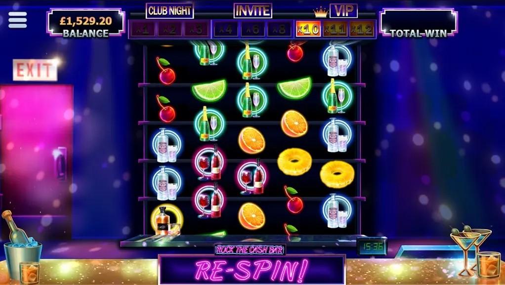 Rock the Cash Bar free slot