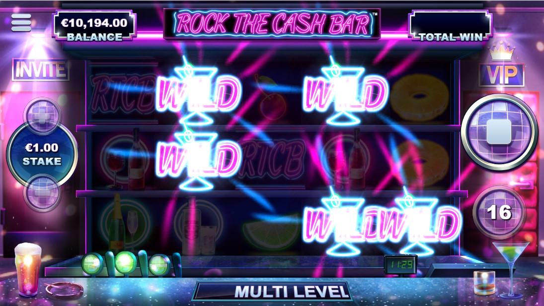 Rock the Cash Bar игровой автомат