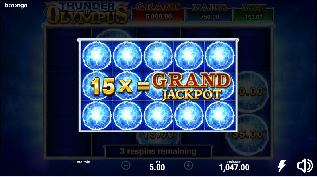 Thunder of Olympus игровой автомат