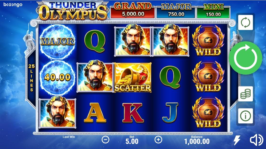 Thunder of Olympus онлайн слот