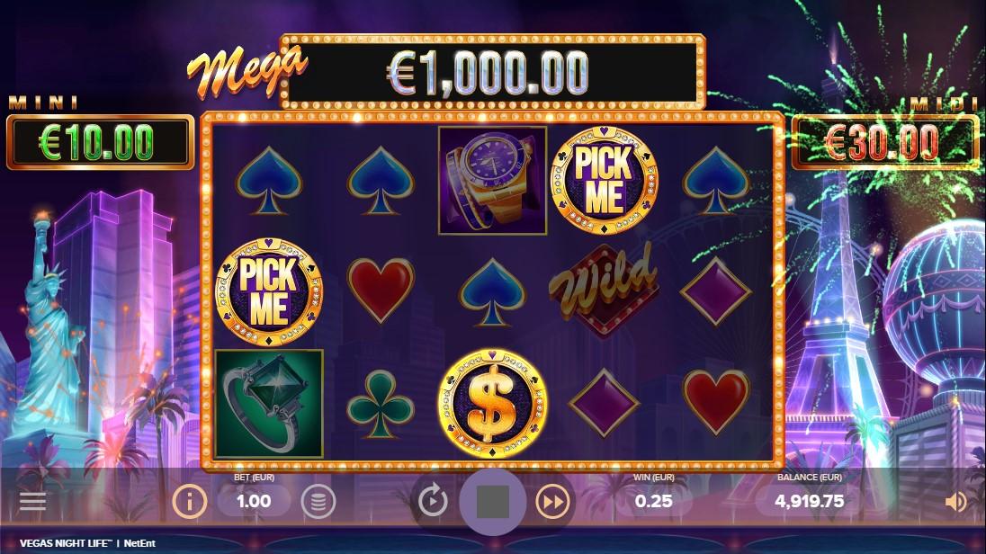 Vegas Night Life free slot