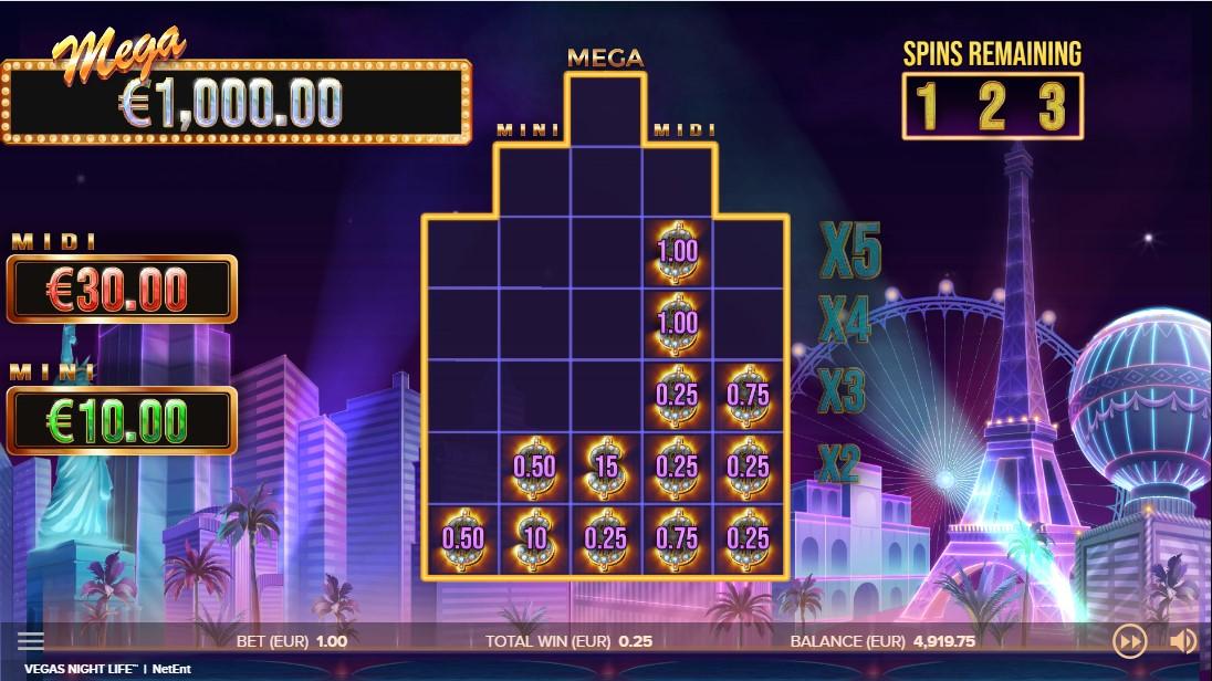 Vegas Night Life игровой автомат