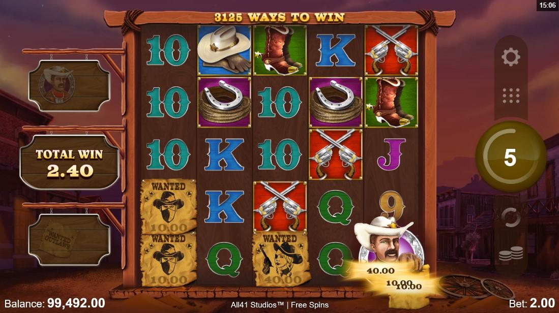 Wanted Outlaws Nobleways игровой автомат
