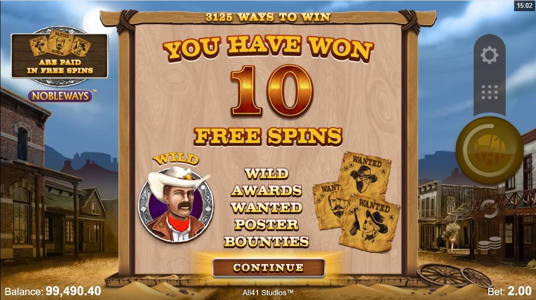 Wanted Outlaws Nobleways онлайн слот