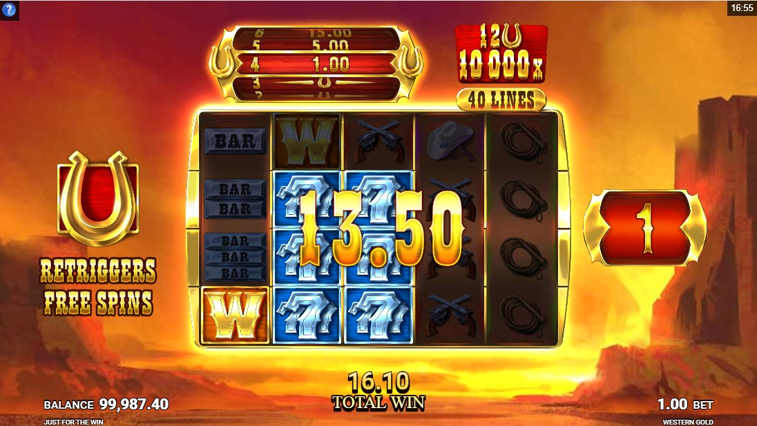 Western Gold игровой автомат
