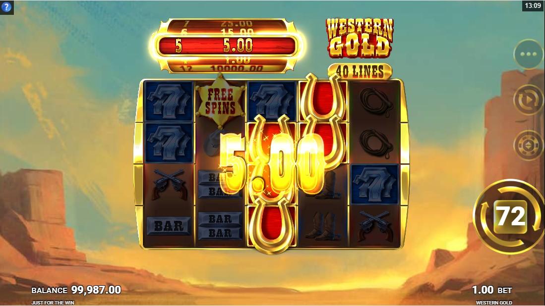 Western Gold free slot