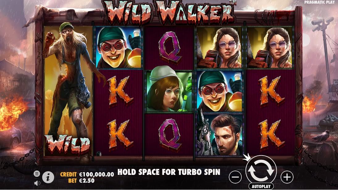 Wild Walker онлайн слот
