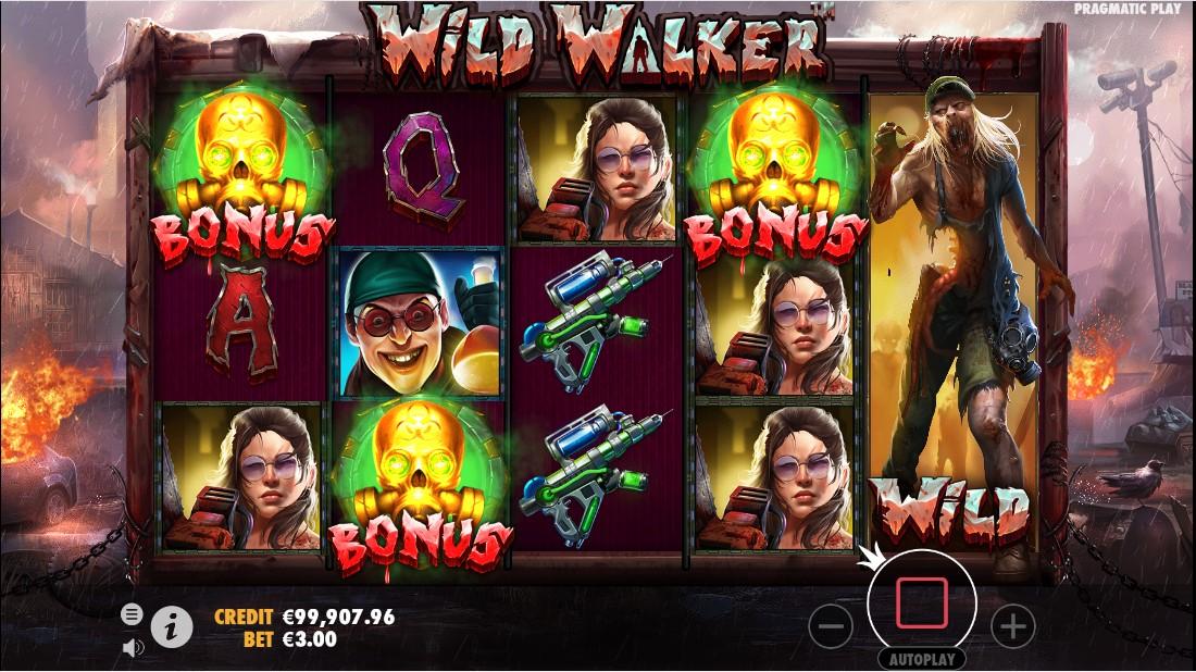 Wild Walker игровой автомат