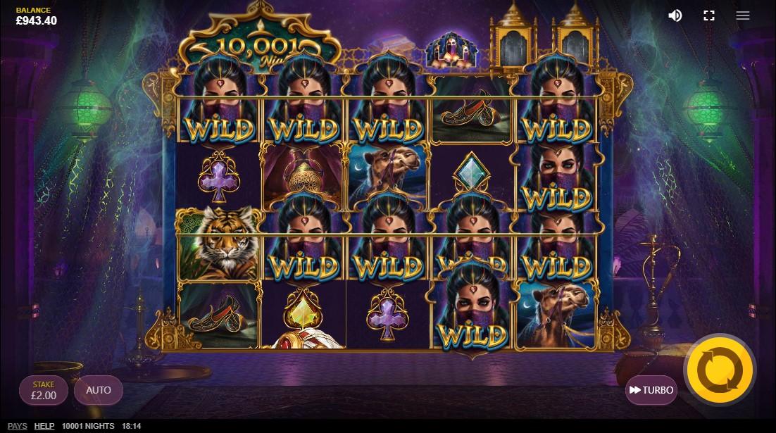 10,001 Nights игровой автомат