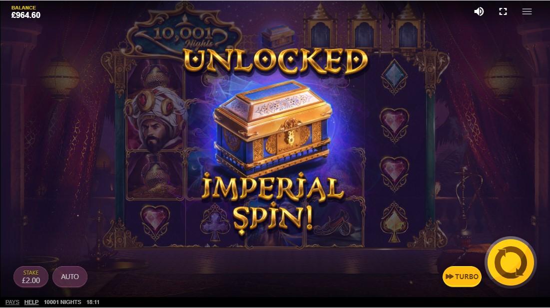 Игровой автомат 10,001 Nights