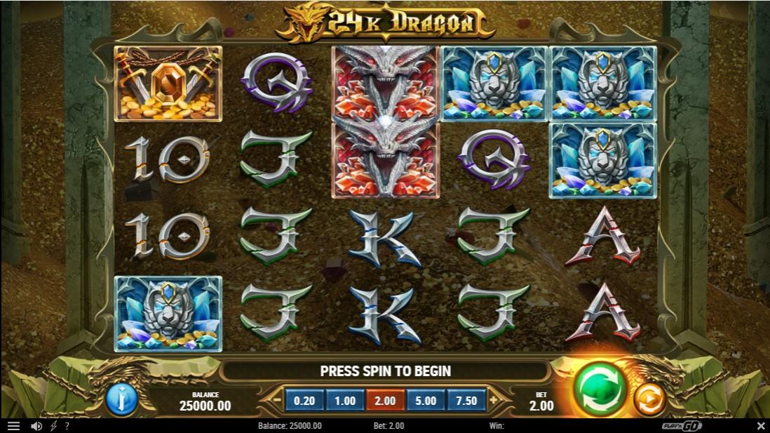 24K Dragon free slot