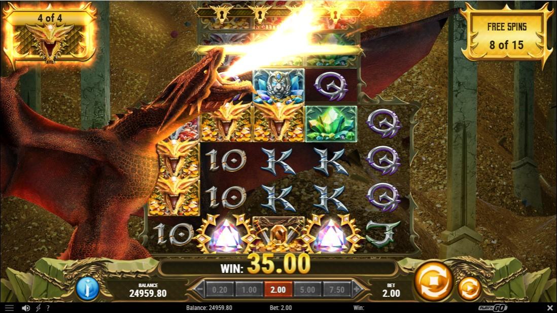 24K Dragon бесплатный слот