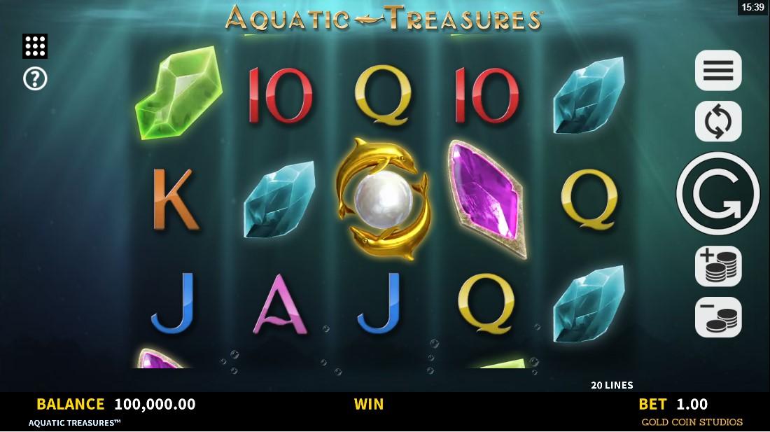 Aquatic Treasures бесплатный слот