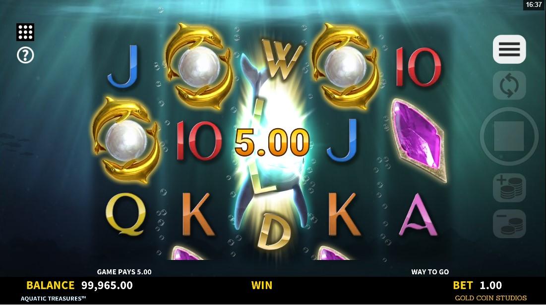 Слот Aquatic Treasures играть бесплатно
