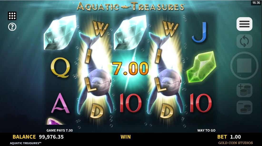 Aquatic Treasures free slot