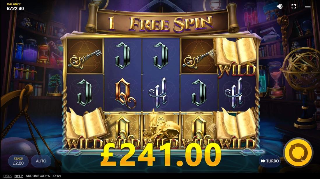 Aurum Codex игровой автомат